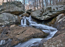 Cunningham Falls i Thurmont, Maryland Royaltyfria Foton
