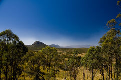 Cunningham Highway - Warwick Queensland Royaltyfria Bilder