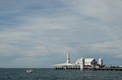 Cunningham Pier dans Geelong Photographie stock