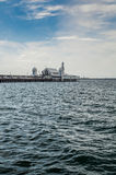 Cunningham Pier em Geelong Fotos de Stock Royalty Free