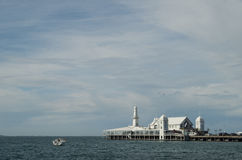 Cunningham Pier in Geelong Fotografia Stock