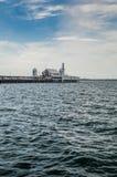 Cunningham Pier in Geelong Fotografie Stock Libere da Diritti