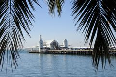 Cunningham Pier  in Geelong Melbourne Victoria Australia royalty free stock photo