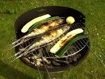 Cuocere 14 alla griglia Fotografia Stock