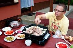 Cuocere dell'uomo Fotografie Stock