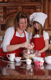Cuocere insieme Fotografia Stock