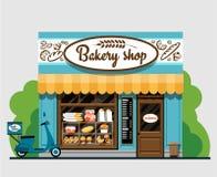 Cuocia il negozio illustrazione vettoriale