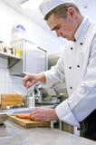 Cuoco Fotografie Stock