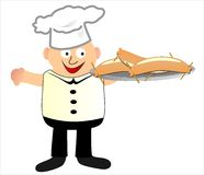 Cuoco Illustrazione Vettoriale