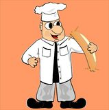 Cuoco Illustrazione di Stock