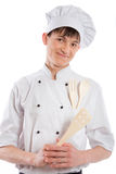 Cuoco Fotografia Stock