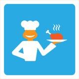 Cuoco allegro Fotografia Stock