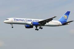 Cuoco Boeing 757 Regno Unito del Thomas Fotografia Stock Libera da Diritti