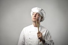 Cuoco creativo Fotografia Stock