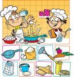 Cuoco dei bambini illustrazione di stock