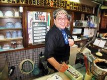 Cuoco del giapponese Fotografia Stock Libera da Diritti