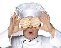 Cuoco di dieta. Fotografia Stock