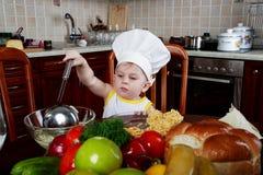 Cuoco di divertimento Fotografia Stock Libera da Diritti