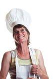 Cuoco felice Fotografia Stock