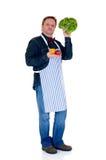 Cuoco felice Fotografie Stock