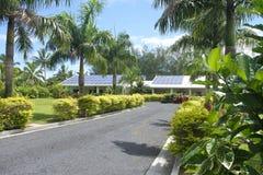 Cuoco Islands di Rarotonga del museo del palazzo di PA Arikis Takitumu Fotografie Stock