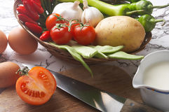 Cuoco - kochen Fotografie Stock