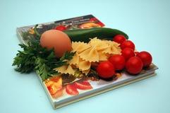 Cuoco - libro Fotografia Stock
