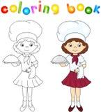Libro da colorare con la cucina illustrazione di vettore for Mobilia dizionario