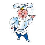 Cuoco principale Immagini Stock