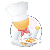 Cuoco unico Immagine Stock Libera da Diritti