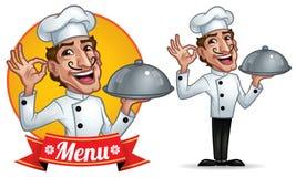 Cuoco unico Illustrazione Vettoriale