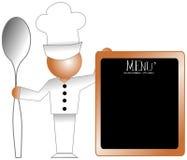 Cuoco unico Immagini Stock