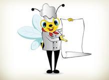 Cuoco unico Bee Fotografia Stock Libera da Diritti