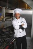 Cuoco unico casuale Fotografia Stock