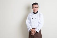 Cuoco unico cinese Fotografie Stock