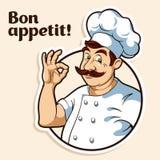 Cuoco unico Cook Fotografie Stock