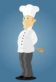 Cuoco unico de cuisine Fotografia Stock