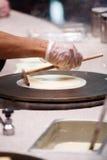 Cuoco unico del Crepe fotografie stock