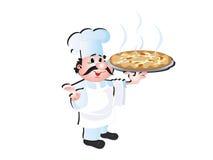 Cuoco unico del cuoco illustrazione di stock