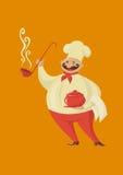 Cuoco unico del cuoco di Smilling Immagine Stock Libera da Diritti