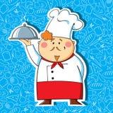 Cuoco unico del ristorante Fotografia Stock Libera da Diritti