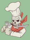 Cuoco unico dell'inferno royalty illustrazione gratis