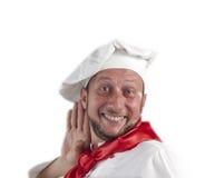 Cuoco unico dell'uomo fotografia stock