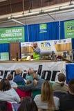 Cuoco unico di Aaron McCargo Food Network Celebrity fotografia stock libera da diritti