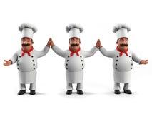 Cuoco unico divertente della cucina Fotografia Stock