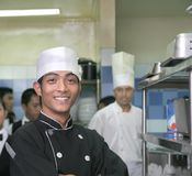 Cuoco unico due Fotografia Stock