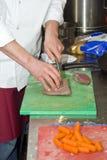 Cuoco unico e Sous-cuoco unico Fotografia Stock