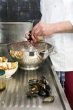 Cuoco unico e Sous-cuoco unico Fotografie Stock Libere da Diritti