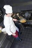 Cuoco unico e Sous-cuoco unico Immagine Stock