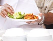 Cuoco unico esterno Fotografie Stock